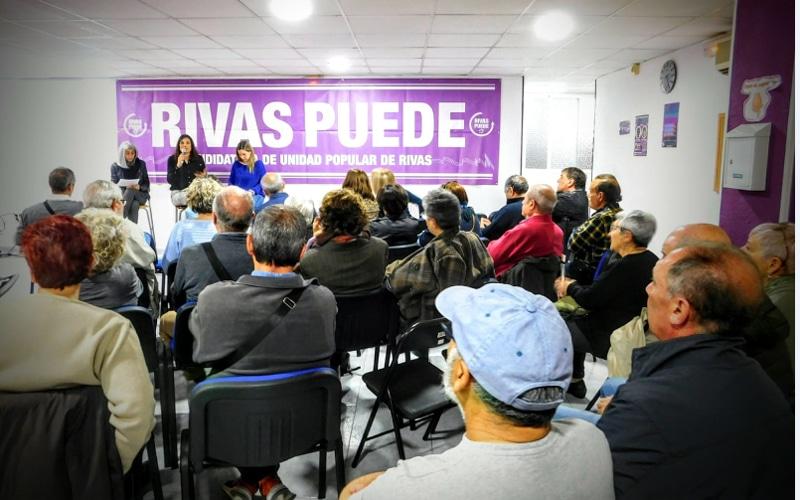 Presentación del proceso de primarias de Rivas Puede