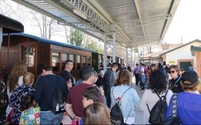 Más de 800 personas en la Jornada de Puertas Abiertas del Tren de Arganda