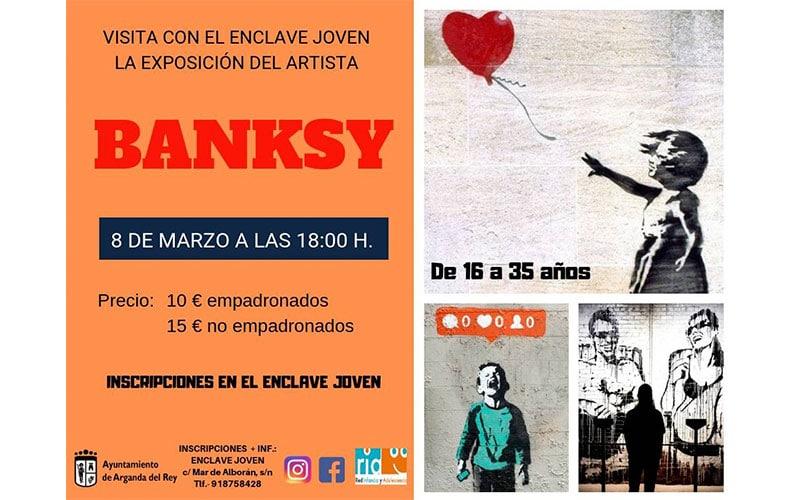 Exposición del artista Banksy.
