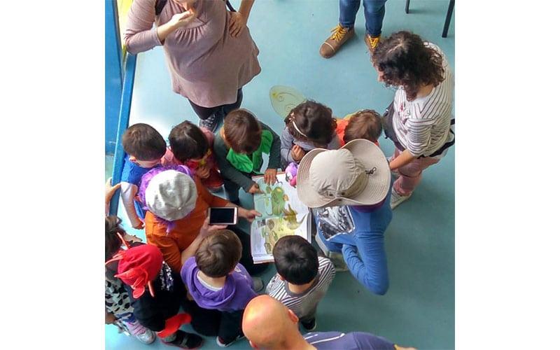 Mes de los derechos de la infancia: juegos y cuentacuentos en Rayuela