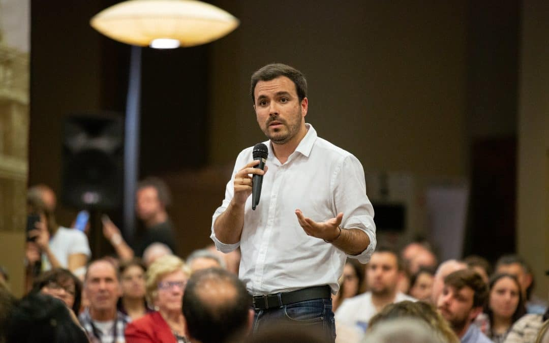 Alberto Garzón cierra la lista de IU en Rivas para las municipales del 26 de mayo