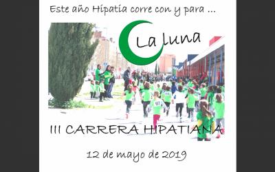 La Carrera Solidaria de Hipatia recorrerá las calles de La Luna en plenas fiestas de Rivas