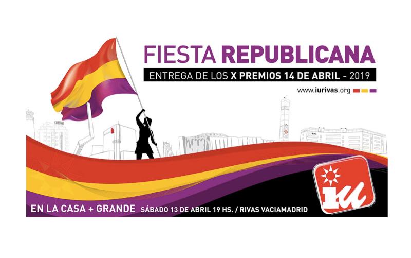 Bob Pop, Almudena Carracedo y el AMPA del Dulce Chacón con la FAPA de Rivas, premios 14 de abril