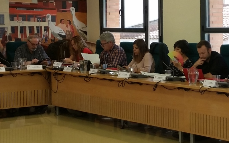 El Grupo Municipal Podemos se disuelve y sus ediles pasan a no adscritos