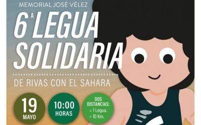 Llega la VI Legua Solidaria de Rivas por el Sáhara