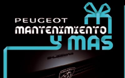 Pida ya cita en Iluscar para el mantenimiento de tu Peugeot y participa en el Sorteo del Oro de Cruz Roja