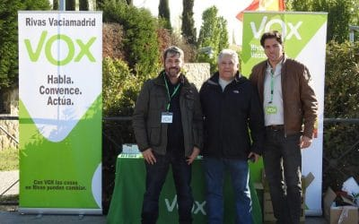 Antonio Sanz, candidato de Vox a la alcaldía de Rivas