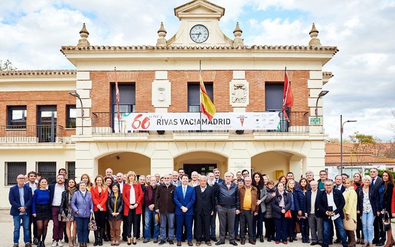 Rivas recuerda a su primera corporación municipal democrática: así fue el homenaje
