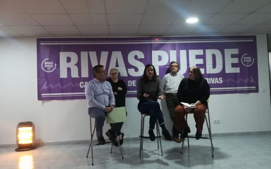 Lucía Causo encabezará la lista de Rivas Puede en las elecciones de mayo