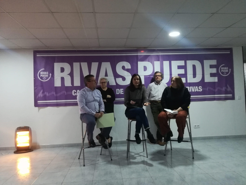 Presentación de la candidatura de Rivas Puede