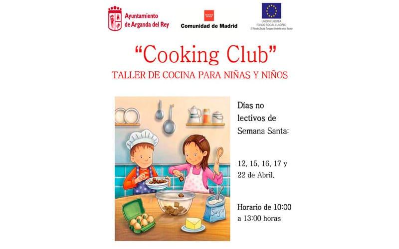 Abierto el plazo de inscripción para el 'Cooking Club' de Arganda del Rey