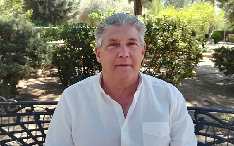 Antonio Sanz, candidato de Vox Rivas