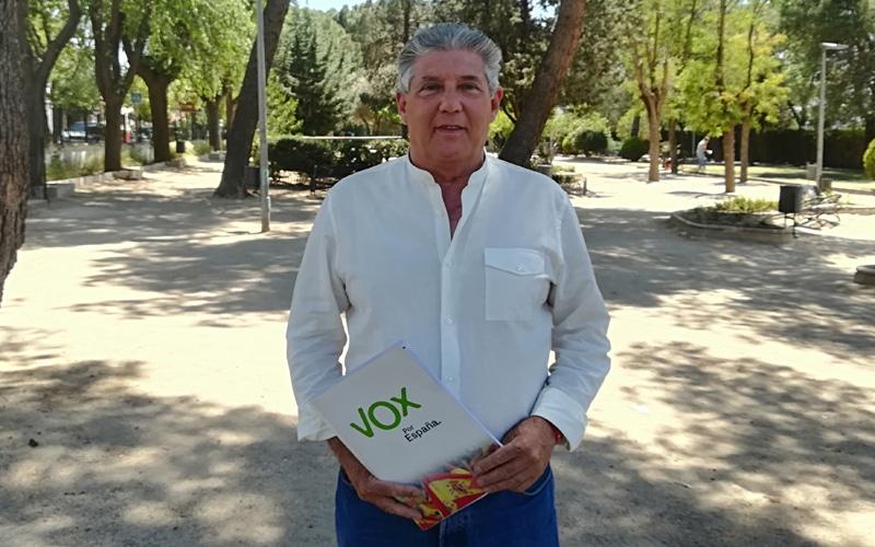Antonio Sanz, de Vox Rivas