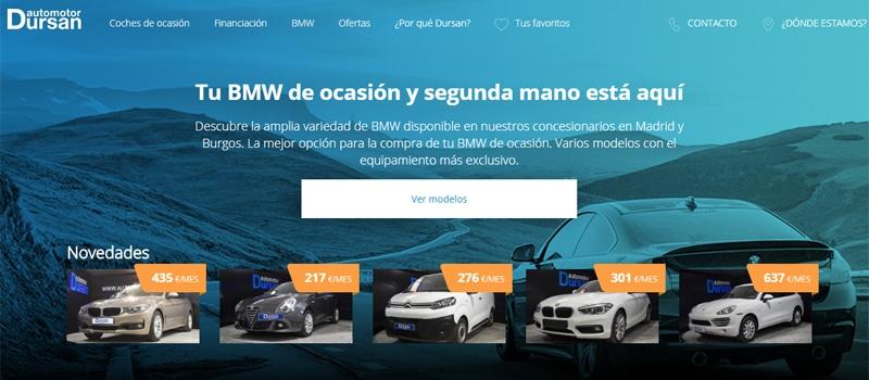 Automotor Dursan estrena nueva web