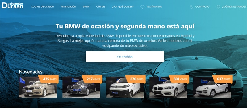 Web Automotor Dursan