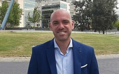 Bernardo González, candidato de Ciudadanos: 'El Gobierno de Rivas no ha tenido interés real en que se construya la salida a la M-50'