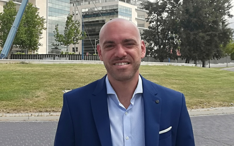 Bernardo González, candidato de Ciudadanos a la Alcaldía de Rivas Vaciamadrid
