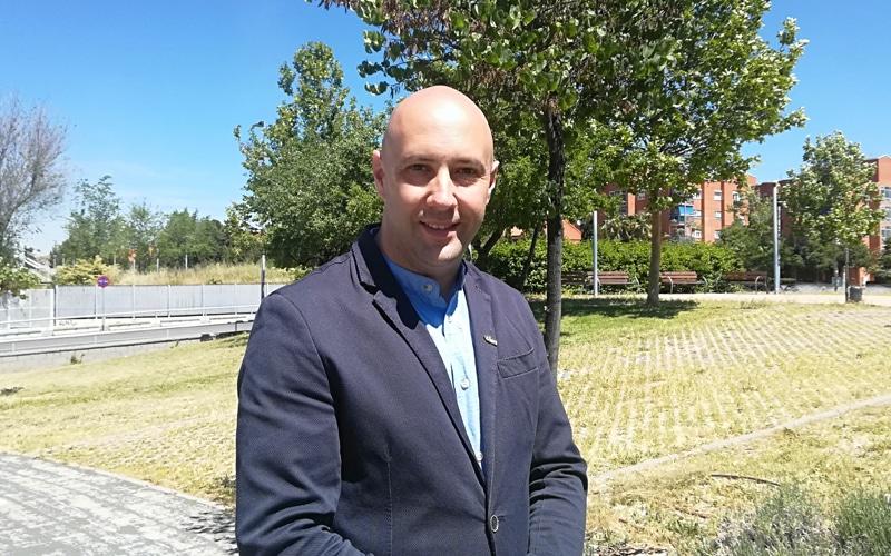 Carlos Gómez, candidato de Vecinos por Rivas Vaciamadrid