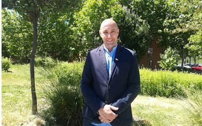 Carlos Gómez, candidato de Vecinos por Rivas Vaciamadrid: 'Queremos gestionar el Ayuntamiento como una empresa que no va a sacar beneficio, sino a mejorar la vida de los vecinos'