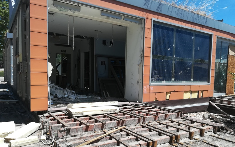 desmantelamiento casa solar rivas