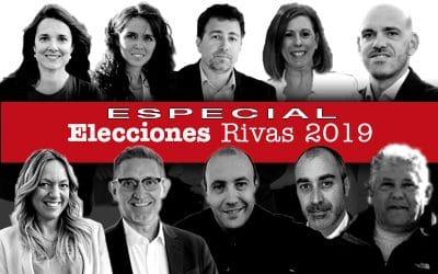 ¿A quién voto el 26 de mayo? Guía para conocer las candidaturas y los programas en Rivas Vaciamadrid