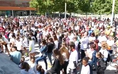 Cientos de personas rinden homenaje a la 'diablilla' Clara Martínez