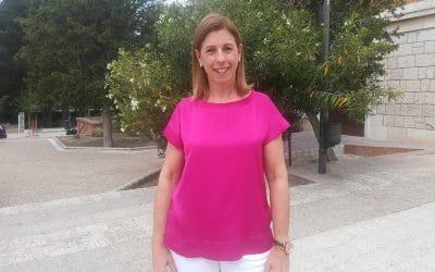 Janette Novo, candidata del PP: 'Exigiremos a la Comunidad todas las infraestructuras que sean necesarias en beneficio de los ripenses'
