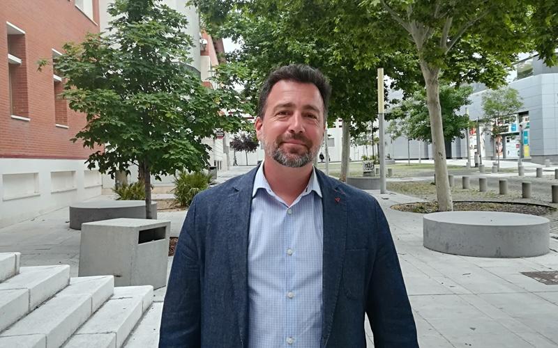 Pedro del Cura, candidato de IU-Equo-Más Madrid