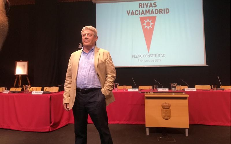 Antonio Sanz, concejal de Vox en el Ayuntamiento de Rivas Vaciamadrid