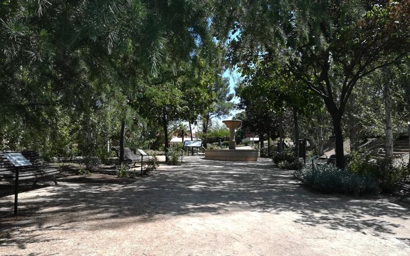 Así es el arboreto de Rivas: un pequeño oasis botánico en el corazón de la ciudad