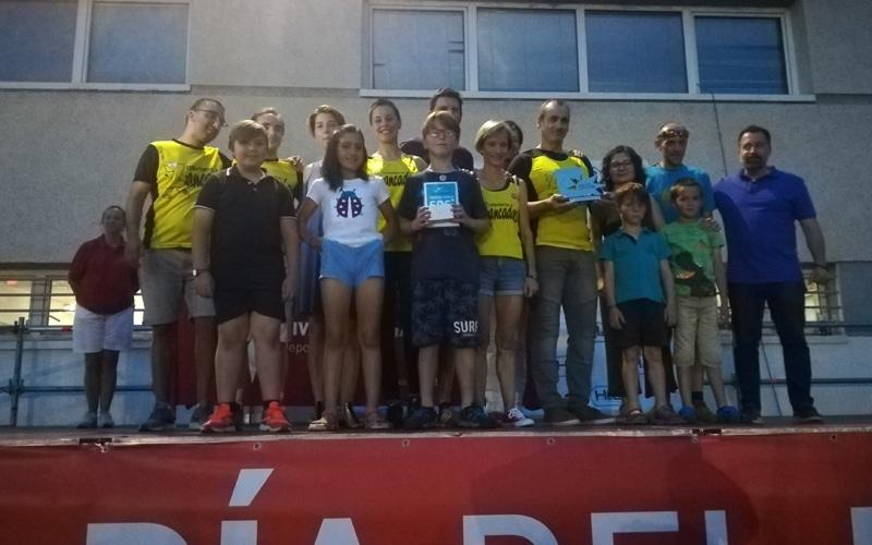 Club de Atletismo Zancadas, premio Rivas Entrena Valores