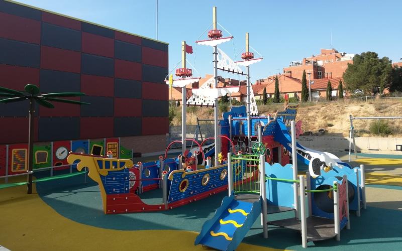 Rivas estrena dos nuevos parques de juegos infantiles singulares e inclusivos