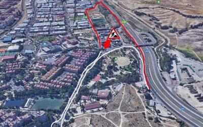 Atención: cortes de tráfico en el túnel de salida de Rivas Oeste a la A-3, dirección Madrid