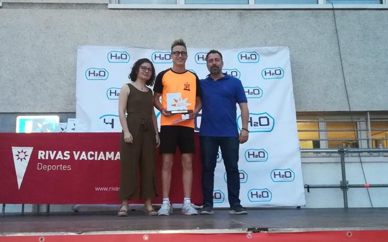Daniel Nieto, premio al deportista promesa masculino de Rivas