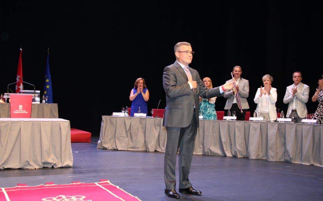 Guillermo Hita, reelegido alcalde de Arganda del Rey