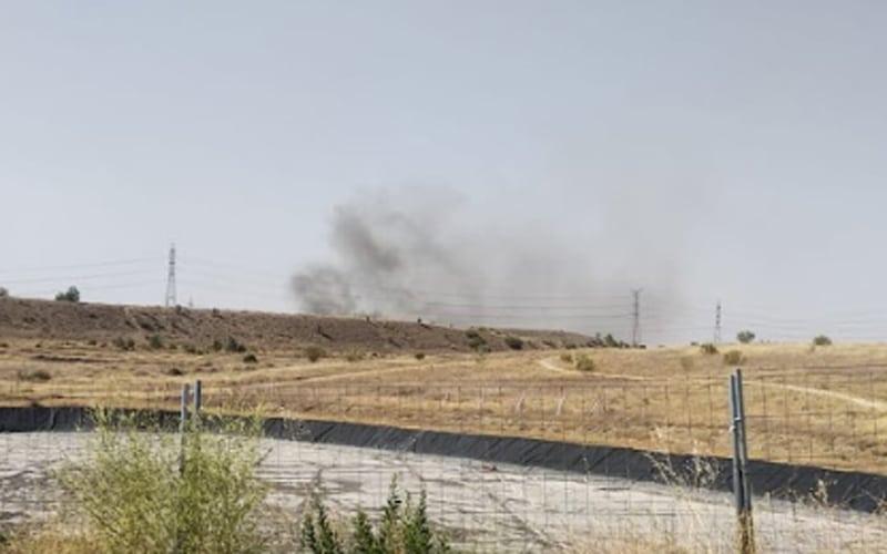 incendio cañada real humo rivas m-50