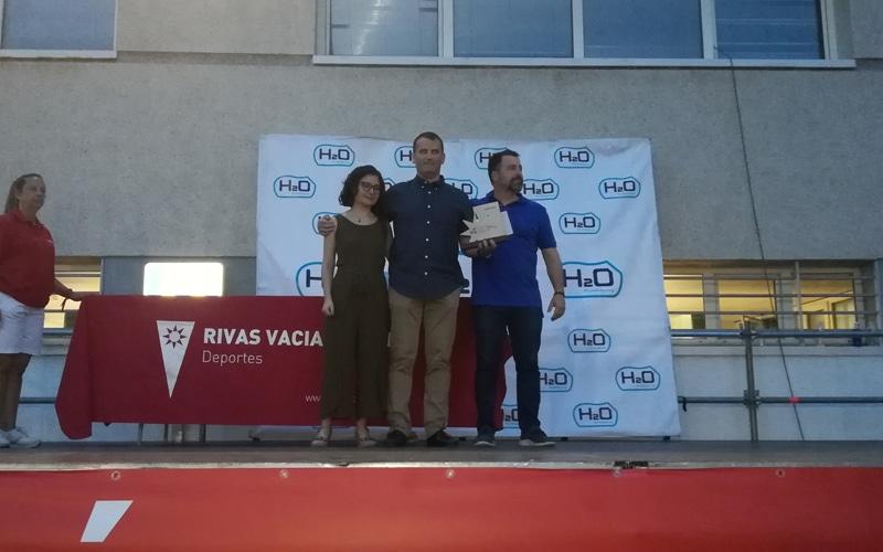 Jarmauto, premio a la labor de apoyo al deporte en Rivas