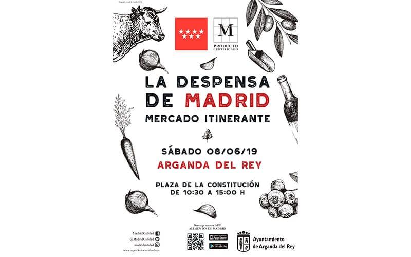 La despensa de Madrid. Mercado Itinerante
