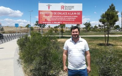 Mario Bastida (PlaciRivas): «Transmitir que el enlace con la M-50 estaba a punto de llegar ha sido una irresponsabilidad»