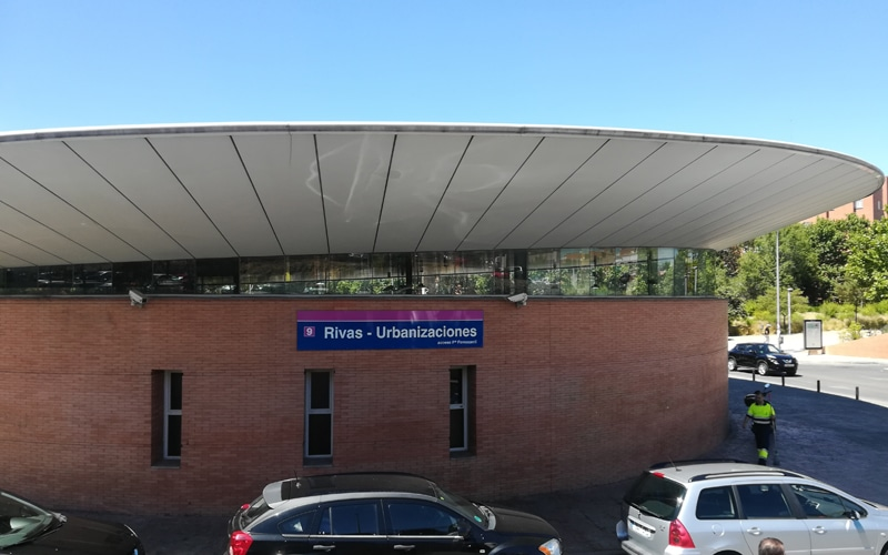 Estación de Metro de Rivas Urbanizaciones