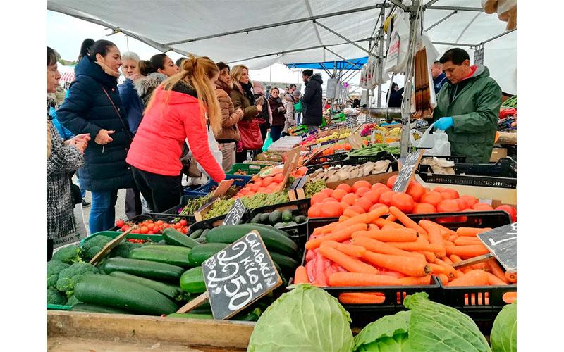 Mercado central invierno