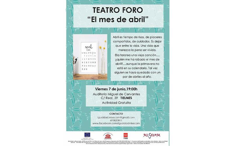 Teatro foro: El mes de abril