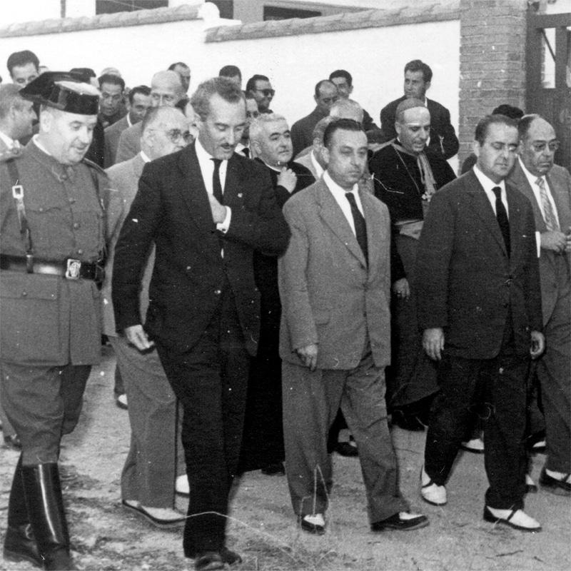 jos luis arrese inauguracion rivas 1959