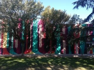 mural boa mistura parque asturias rivas