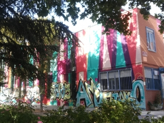 mural boa mistura parque asturias rivas grafitis