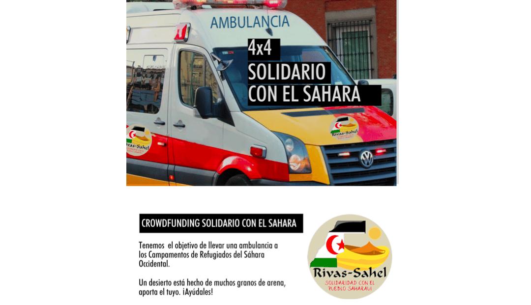 Rivas Sahel pide ayuda a la ciudadanía para su XIII Caravana Solidaria con el Sáhara