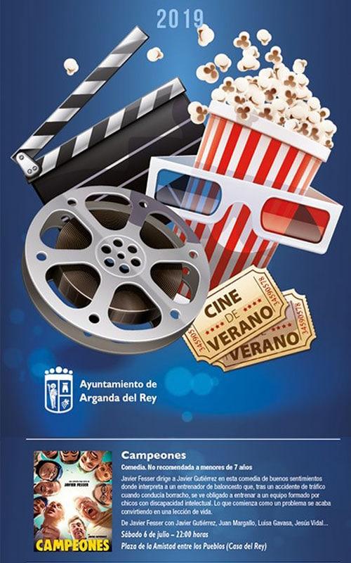 Cine de verano Arganda