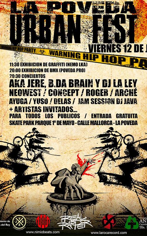 La Poveda Urban Fest Arganda
