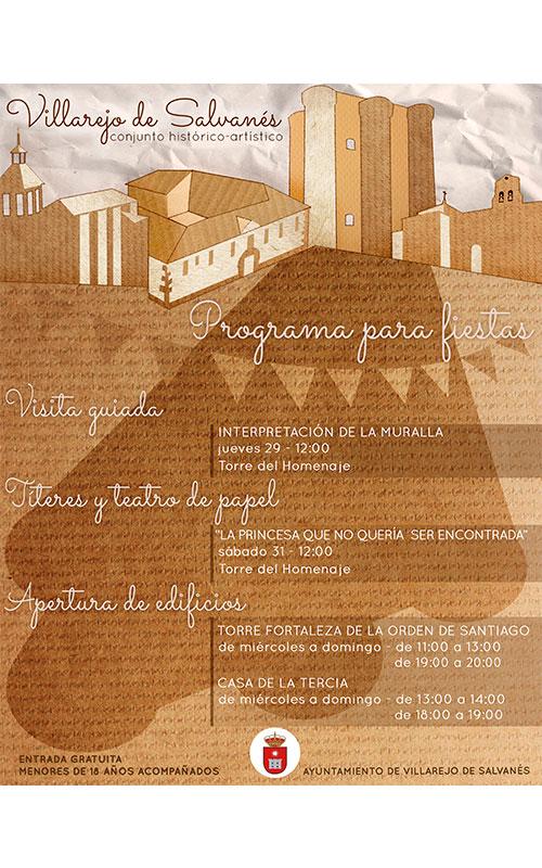 Patrimonio Histórico de Villarejo de Salvanés vuelven a abrir sus puertas
