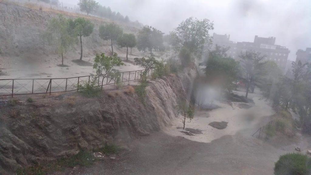 lluvias inundaciones tormentas rivas vaciamadrid